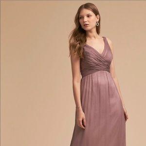 BHLDN Angie Dress Violet Gray
